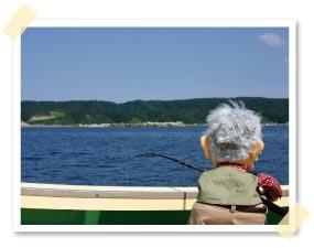 久しぶりの釣りは心が休まるの