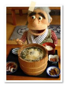 自家製のイカの塩辛など小鉢も色々ついてボリューム満点じゃ!
